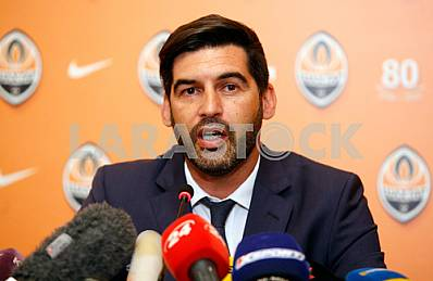 Presentation of the new coach of FC Shakhtar