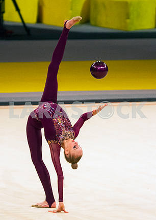 Olena Diachenko on the Deriugina Cup