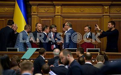 Meeting of the Verkhovna Rada
