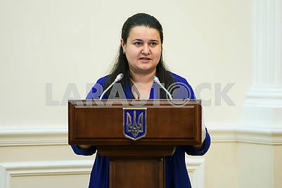 Oksana Makarova - acting. the Minister of Finance