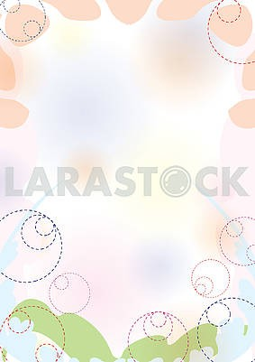 Abstract spring pastel background 2