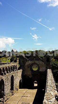 St David's Castle Ruins