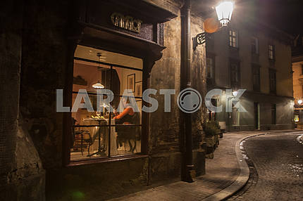 Mysterious streets of old Krakow.