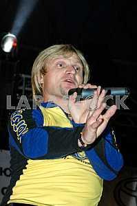 "Oleg Skripka leader of the group ""Vopli Vidoplyasova"""