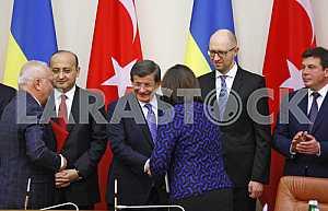 Prime Minister of Turkey Ahmet Davutoglu in Kiev