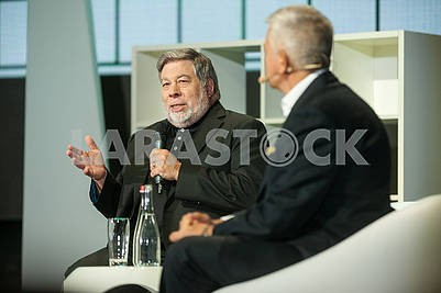 Steve Wozniak at the Olerom Forum 1.