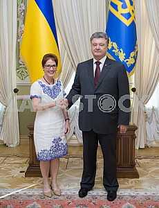 US Ambassador Marie L. Yovanovitch in Ukraine