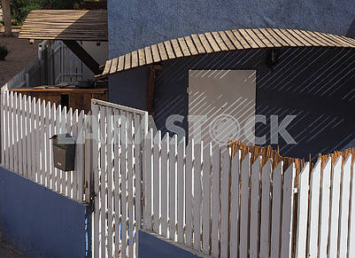 Fence and porch