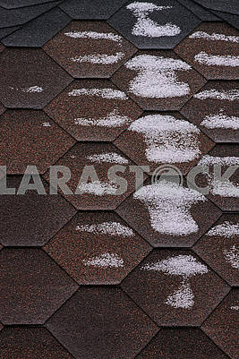 Bitumen roofing surface