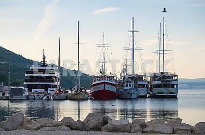 Bay in Makarska