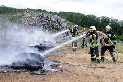 Exercises of rescuers