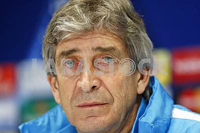 Press conference of FC Manchester City