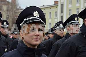 Police in Ternopil