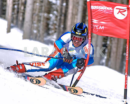 Competitions for the giant slalom