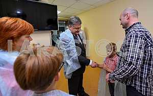 Petro Poroshenko, Vladimir Suprun Yuri and Pearls