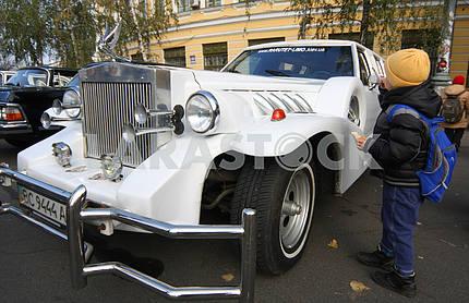 Retro car Excalibur