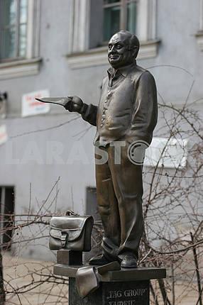 Monument to Mikhail Zhvanetsky