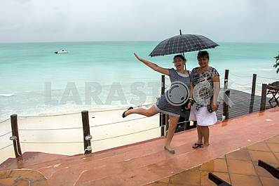 Zanzibar, the rainy season