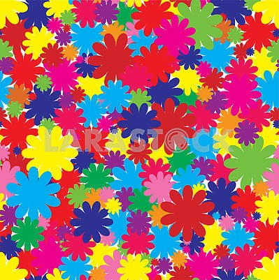 Floral seamless background, part 2