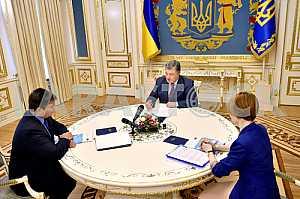 Petro Poroshenko and Pavlo Klimkin