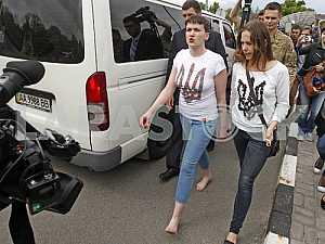 Arrival of Nadiya Savchenko Ukraine