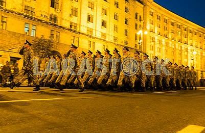 Parade rehearsal