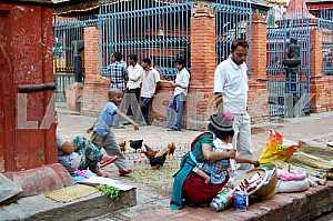 Detecting in a scene in Kathmandu