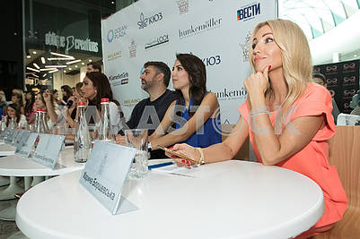 Jury open casting beauty contest Miss Ukraine Universe