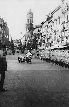 German military parade.