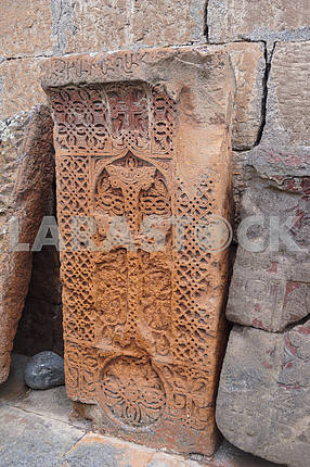 Khachkar. Saint Hripsime Church