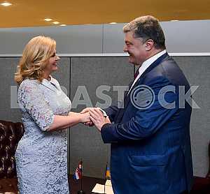 Петр Порошенко и Колинда Грабар-Китарович