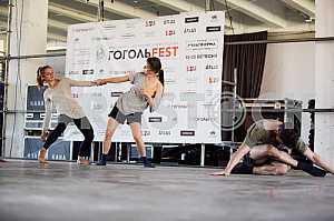 Preparation of modern art festival GogolFest