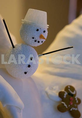 New Year's candy Snowman