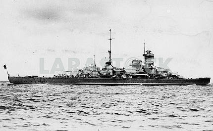 German heavy cruiser