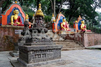 Buddha statue. Nepal, Kathmandu