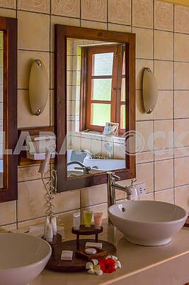 Bathroom Interior in Zanzibar