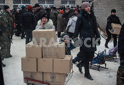The humanitarian situation in Avdeevka