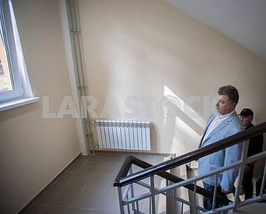 Petro Poroshenko visited the house for the SBU servicemen
