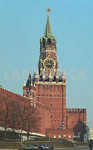 MOSCOW The Kremlin Spasskaya Tower