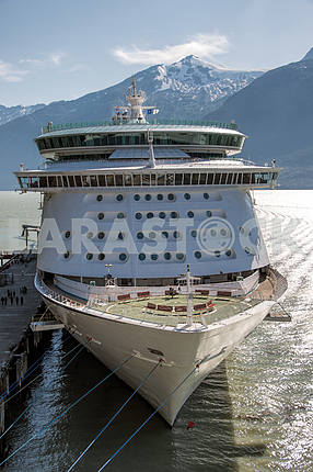 The cruise ship