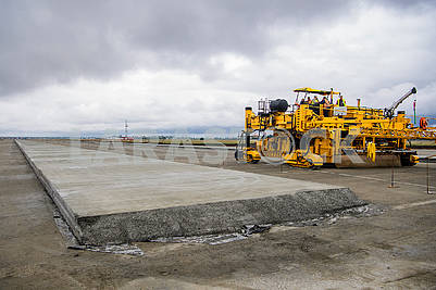 Reconstruction of the runway