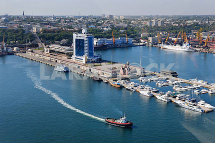 Odessa. Aerial view. Naval Station September 27, 2011