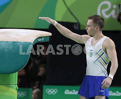 Oleg Oleg Verniaiev at the 2016 Olympics