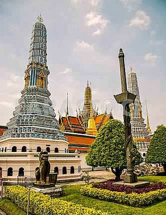 Columns of the Royal Grand Palace