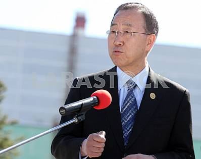 Ban Ki-moon, UN Secretary-General, 20 April 2011