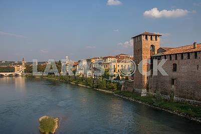 Castle of Castelvecchio and the River Adige