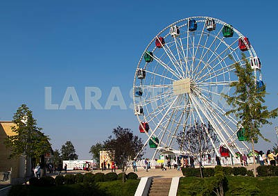 The Ferris Wheel in Almaty
