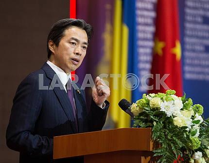 Chinese Ambassador Du Wei