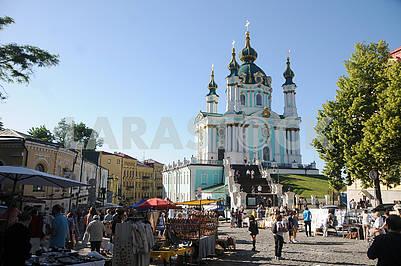 Fair on Andreevsky Spusk