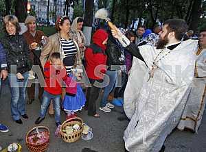 Easter celebrations in Kiev